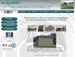 Site internet de M. Rozier